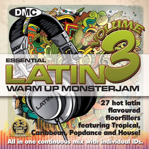 DMC MonsterJam Essential Latin Warm Up 3 (2016)